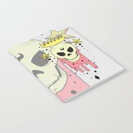 Crowned Skull Notebook
