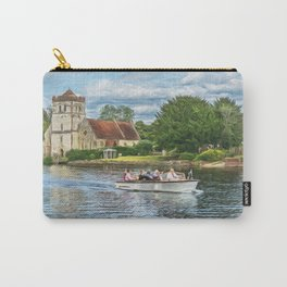 On The Thames At Bisham Carry-All Pouch