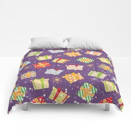 Christmas gifts pattern 7 Comforters