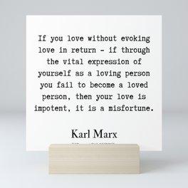 24     Karl Marx Quotes   190817 Mini Art Print