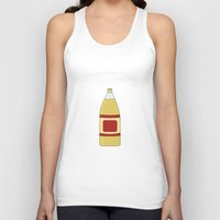 oz Tank Tops featuring 40 oz by Skyler Kitts