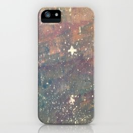white star iPhone Case