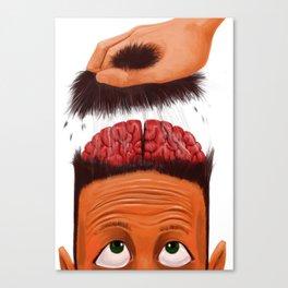 Brains Out Canvas Print