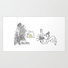 mcd Art Print
