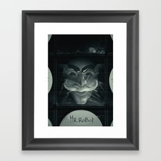 Hack the picture Framed Art Print
