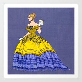 Ballroom Glamor Art Print