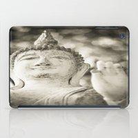 buddhism iPad Cases featuring Buddha in Sukhothai by Maria Heyens