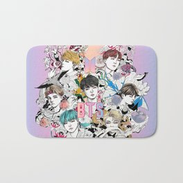 BTS Members -Love Yourself Bath Mat