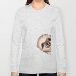 Sneaky Baby Sloth Long Sleeve T-shirt