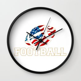 Football Nation Wall Clock
