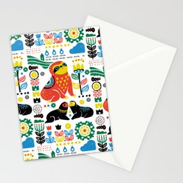 Scandinavian Sloths Stationery Cards