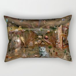 Dream space Chaos Rectangular Pillow