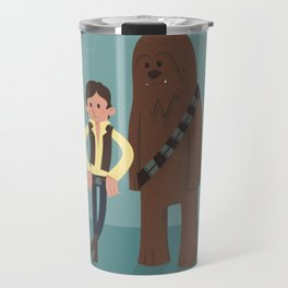 Han & Chewie, The Rogues Travel Mug