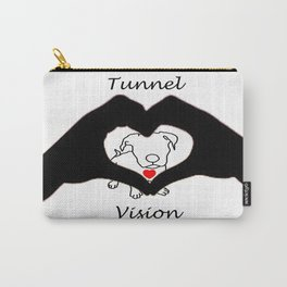 Tunnel Vison (love is a pit bull No.3) Carry-All Pouch