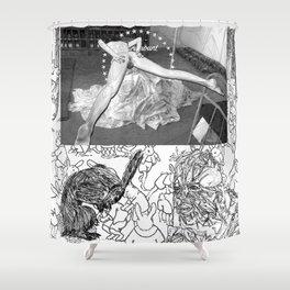 The constellation erotique 3110 Shower Curtain