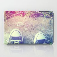converse iPad Cases featuring Converse by Jane Mathieu