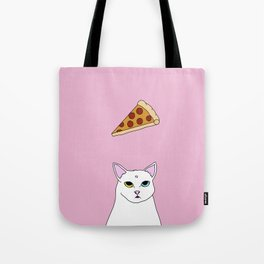 Fat D. Loves Pizza Tote Bag
