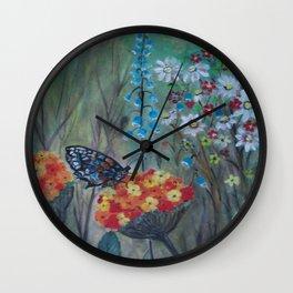 Posies Friend-Butterfly Love Wall Clock