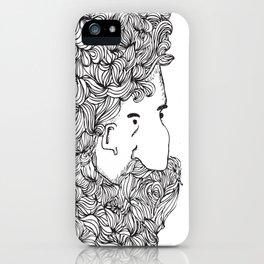 Bearded Man iPhone Case