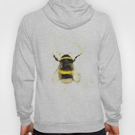 ORIGINAL WATECOLOR BUMBLE BEE Hoody