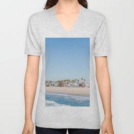 California Dreamin - Venice Beach Unisex V-Neck