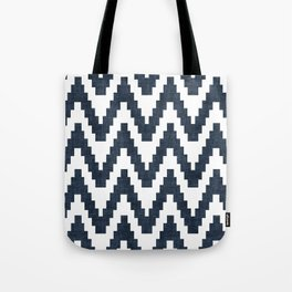 Twine in Navy Blue Tote Bag