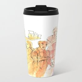 24 Hours Metal Travel Mug