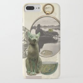 Green Cat iPhone Case