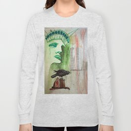 Blood Stained America Long Sleeve T-shirt