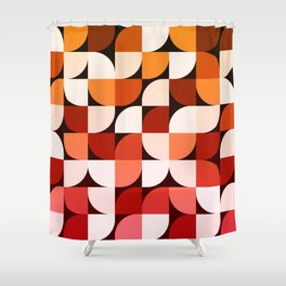 Abstract Composition 644 Shower Curtain