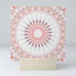 Mandala Rhodochrosit Mini Art Print