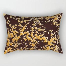 camouflage texture ochre Rectangular Pillow