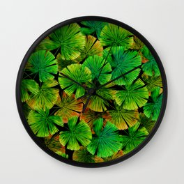 Tropical Palm leaf painting iPhone 4 4s 5 5c 6 7, pillow case, mugs and tshirt Wall Clock