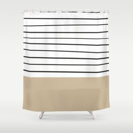 MARINERAS CREAM Shower Curtain