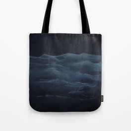 Dark Ocean Tote Bag
