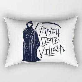 Punch-Clock Villain Rectangular Pillow