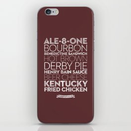 Louisville —Delicious City Prints iPhone Skin