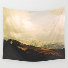 Mountain view Wall Tapestry