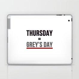 Grey's Day Laptop & iPad Skin