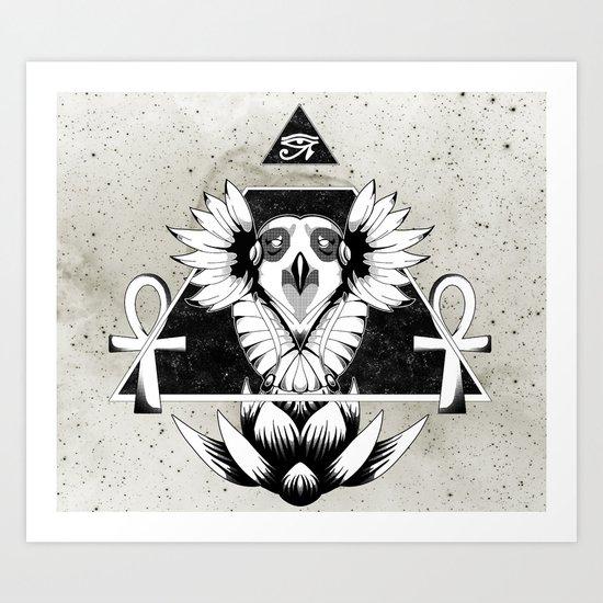 Eye of Infinity Art Print