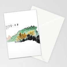 Spring of Pin-Din Stationery Cards