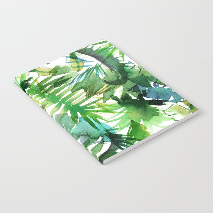 VIBE of the Jungle  {A-green} Notebook