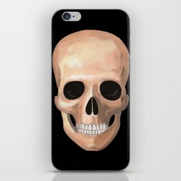 Smiling Skull iPhone Skin