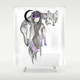 Guardian Shower Curtain