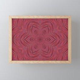 Artsy Pink Flower Framed Mini Art Print