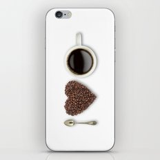 I Love Coffee iPhone Skin