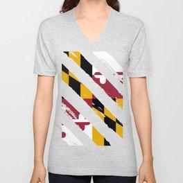 Maryland Unisex V-Neck