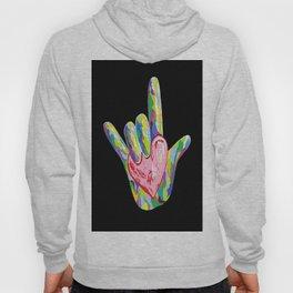 ASL I HEART YOU! Hoody