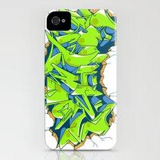 Vecta Wall Smash iPhone (4, 4s) Slim Case