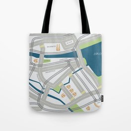 The Streets of Zurich Tote Bag